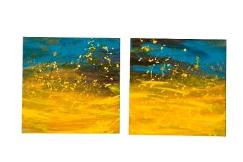 Duo Agua de Mar, 2009. 40 x 80cm