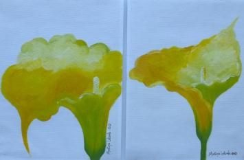 """Duo Cartuchos Amarillos, 2004. 9"""" x 24"""""""